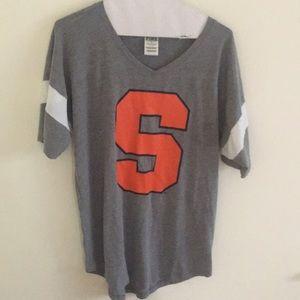 Syracuse University Pink shirt